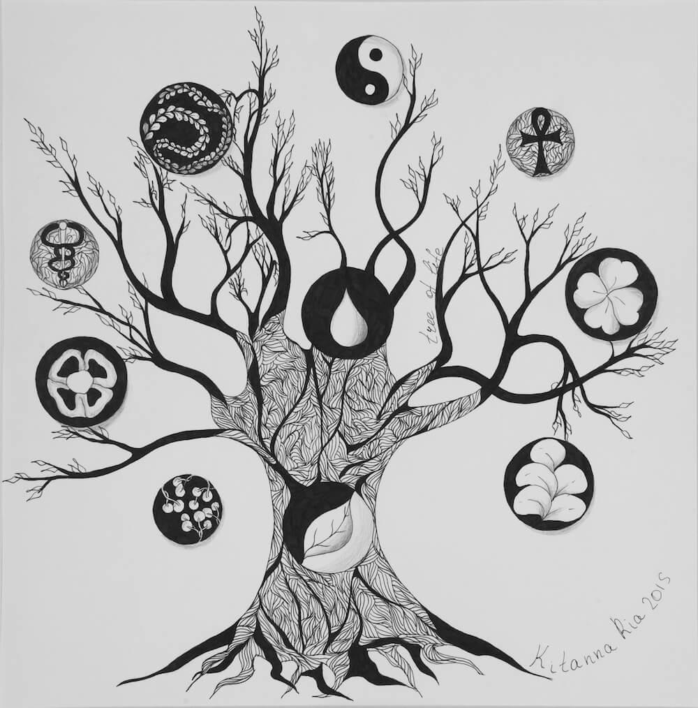 Древо Жизни The Tree of Life Китанна Риа  Kitanna Ria