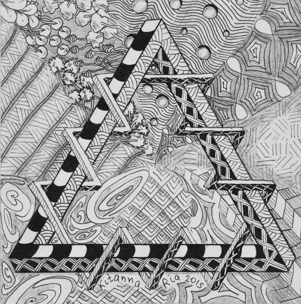 artkitanna, kitanna ria, Сorrupted geometry, китанна риа, арткитанна, порочная геометрия
